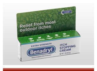Benadryl Extra Strength Anti Itch Cream 1 Oz Tube - On Sale