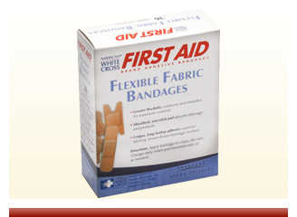 Fabric Assorted Bandages - On Sale