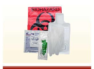 Biohazard Fluid Clean Up Kit - On Sale