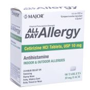 Allergy Relief Medication Generic Zyrtec 10mg 90 Per Bottle