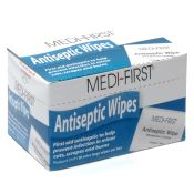 Medi First Antiseptic First Aid Wipes 20/box
