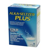 Alka Seltzer Plus Cold Relief 36/box