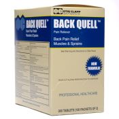 Otis Clapp Back Quell Pain Reliever 150 X 2