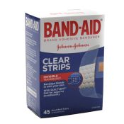 Clear Strip Band Aid Brand Assortment (45/Bx)