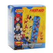 Superman/Wonder/Flash Bandages (100/Bx)