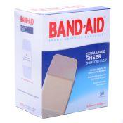 J & J Bandaid Brand Plastic Extra Large Adhesive Bandages 50/box