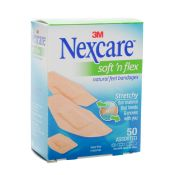 Bandaid Nexcare Comfort Fabric Bandage Assorted 50/box