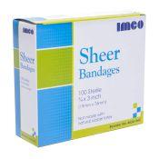 Plastic Adhesive Bandage Strips 3/4'' X 3'' 100/box
