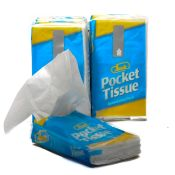 Facial Tissue Pocket Packs 8/packs