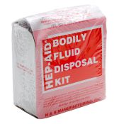 Hep-Aid Bodily Fluids Disposal Kit