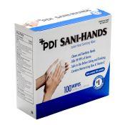 Sani Hands Alc Alcohol Gel Hand Wipes 100/box