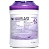 Super Sani Cloth Germicidal Disinfectant Surface Wipe 160/tub