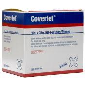 Coverlet Hospital Grade 4 Wing Bandage 3 X 3 50/box
