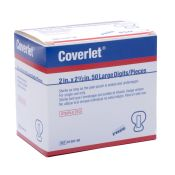 Coverlet Fabric Elastic Large Fingertip Bandage 50/box