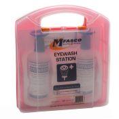 MFASCO Eye Wash Station Kit Double 16 oz