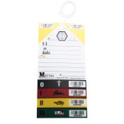 Triage Tag Color Coded Mettag Each