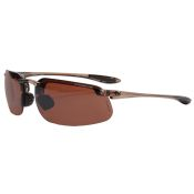 Crossfire ES4 Protective Sun Glass Bronze Lens Brown Frame