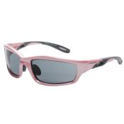 Crossfire Infinity Sun Glasses for Women Pink Frame Smoked Lens
