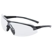 Safety Glass Pyramex Onix Black Frame Clear Lens Pair