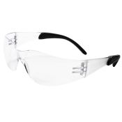 Safety Glasses Mirage Rt Rubber Temples Clear Lens