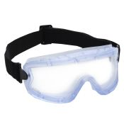 Goggle Small Chemical Splash Blue Frame