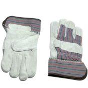 Leather Palm Work Gloves Large Size Dozen