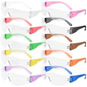 Starlight Gumball Safety Glasses Small Multi Colored 10/bx