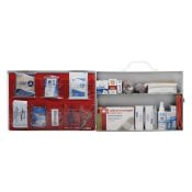 Value First Aid Kit 2 Shelf Complete Labeled