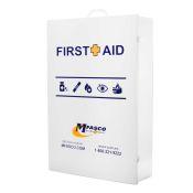 Empty Large First Aid Cabinet 5 Shelf W/Logo