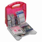 MFASCO First Aid Kit 25 Person Light Plastic