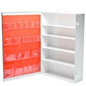First Aid Cabinet Industrial 5 Shelf Metal Empty