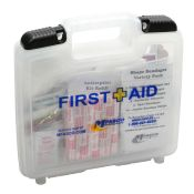 First Aid Kit MFA Clear Plastic/Slide 200 Piece