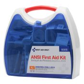 ANSI First Aid Kit A+ Plastic Case By FAO