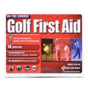 Great Golf Gift!! Golf First Aid Kit 18 Piece Each