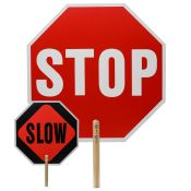 Handheld Stop Sign/slow Sign