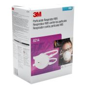 3m #8214 N95 Particulate Respirator With Valve 10/pkg