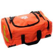 EMT First Responder Bag Large Orange Empty