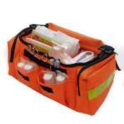 On Call Trauma Kit Packed In Orange Bag