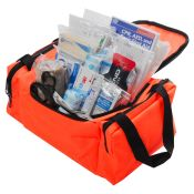 Junior First Aid Kit Bag Complete Orange