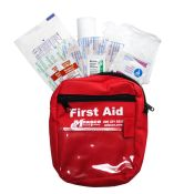 First Aid Kit Pouch With Disposable Fill