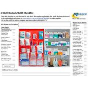 4 Shelf Kit Refill Checklist PDF
