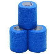 Coflex Compression Wrap Elastic Blue 3~ 3/pkg Latex Free