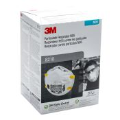 3m #8210 N95 Disposable Dust Mist Respirator 20/box