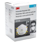 3M 8210V Valved Respirator Mask 10/box