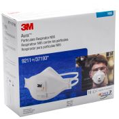 3m #9211 N95 Respirator With Exhalation Valve 10/pkg