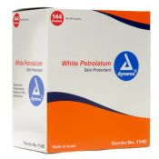 Petroleum Jelly Industrial Packets 144/box