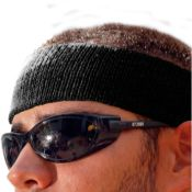 Chill-Its Black Sweatband Each