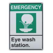 Sign Visual Eye Wash Station