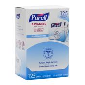 Purell Pocket Packs 125/Bx