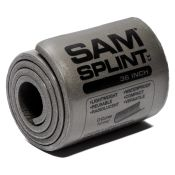 Sam Splint Universal Flexible Aluminum Splint 41/2 X 36
